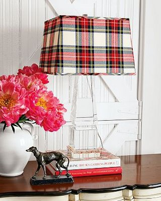 Plaid Lamp